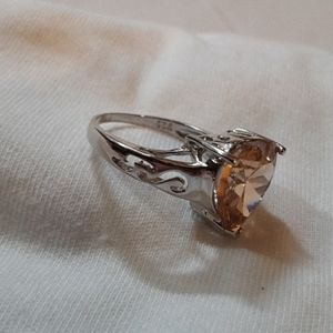 AudieLeigha Jewelry - Sterling Silver Heart Ring